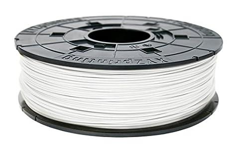 XYZprinting RFPLCXEU0CK Pearl White PLA Filament Cartridge, 600 g ...