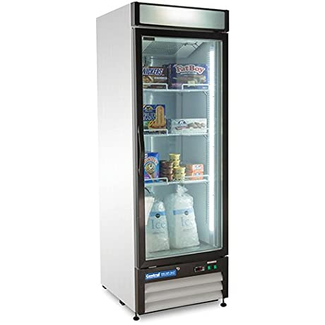 Central Exclusive 69K 117 Swing Glass Door Freezer 1 Door