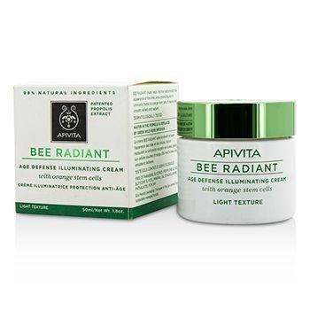 Apivita Bee Radiant Age Defense Illuminating Cream - Light Texture 50ml/1.76oz