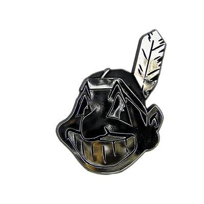 Cleveland Indians Silver Auto Emblem