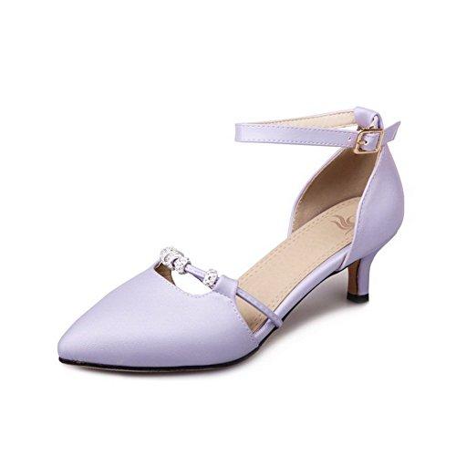 Sandales 36 BalaMasa ASL05573 5 Violet Femme Violet Compensées EU Oxq5rwYqz