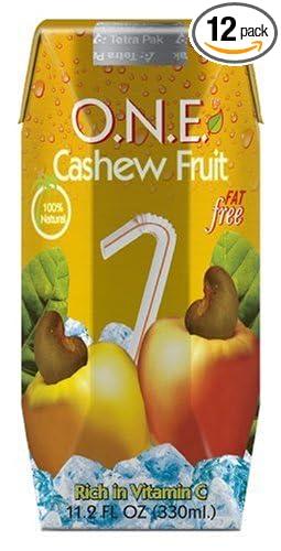 Amazon.com : O.N.E. Drink, Cashew Fruit, 11.2-Ounce Aseptic ...