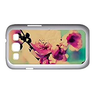 Cherry Blossom Macro Watercolor style Cover Samsung Galaxy S3 I9300 Case (Spring Watercolor style Cover Samsung Galaxy S3 I9300 Case)