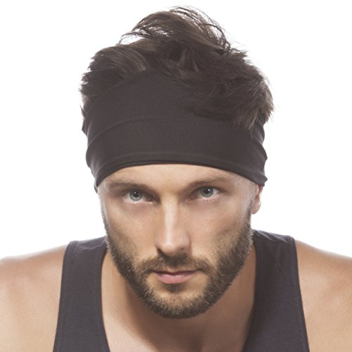 Headband Sweatband Running Workout Elastic product image