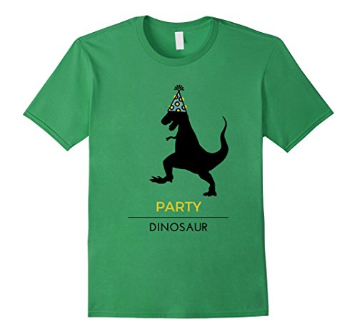 Mens Party Dinosaur T-Shirt Father's Day Gift Adult