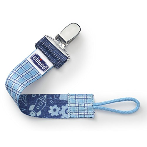 Chicco Fashion Pacifier Clip Gingham product image