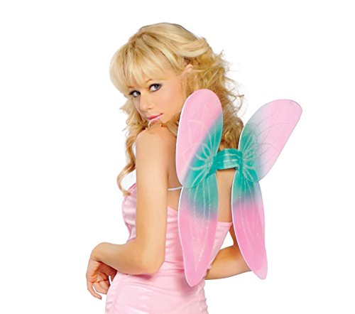Sexy Pink Fairy Pixie Butterfly Wings Costume Accessory (Pink Butterfly Adult Wings)
