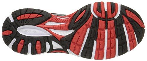 Saucony - Zapatillas de running de Material Sintético para hombre Negro negro Gris - Gris - Grigio/Nero/Rosso
