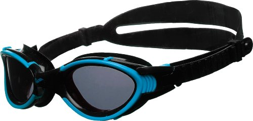 arena Erwachsene Schwimmbrille Nimesis X-Fit, Turquoise- Smoke- Black, One size, 92416