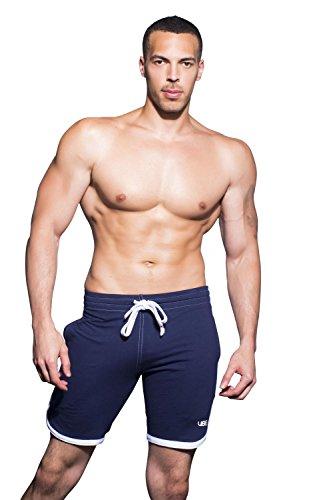 Andrew Christian Vibe Training Shorts, Navy, Small