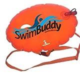 Swim Buddy Racer II Orange Personal Swim Float for Open Water Swimming