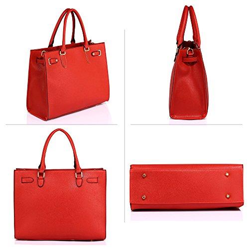 Las Uk Grandes Stunning De Delivery De Hombro Mujeres Tote Rojo De Shoulder Red Guardar Free De Bag 50 Gratuita Entrega Bolsa Save Uk Women's Totalizador Large Lujo Color Del Impresionante 50 Luxury g8xgqUa