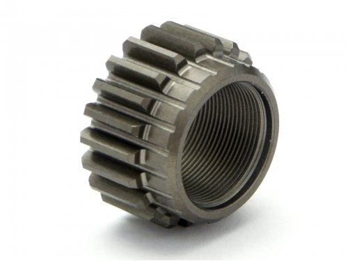HPI 77011 Threaded Pinion Gear 21Tx12mm (0.8M/1ST/2 Speed) ()
