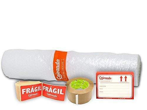 Cajas Cartón para Mudanzas (Pack BÁSICO de 16 Cajas + Accesorios) - Cajas de Canal Simple, Doble y de Color Marrón. Fabricadas en España.