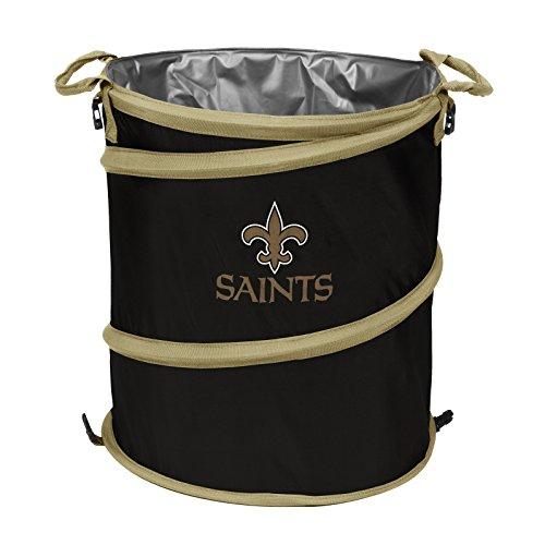 Logo Brands 620-35 NFL New Orleans Saints 3-in-1 Cooler, 19
