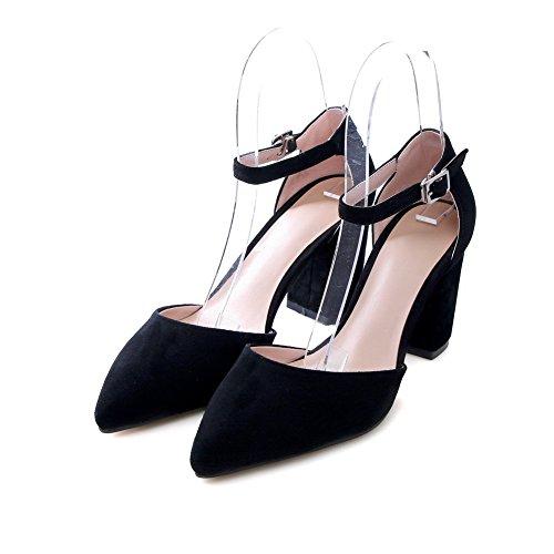 BalaMasa Sandales Compensées Femme Noir ccxgGdsvcw
