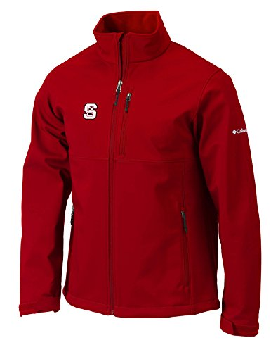 Jacket Wolfpack Nc State - Columbia NCAA North Carolina State Wolfpack Men's Ascender Jacket, Medium, Intense Red