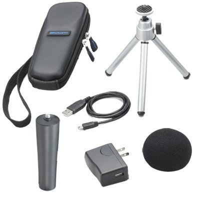 Zoom H1n w/ Accessory Pack with microSDHC Card and Cables by Zoom