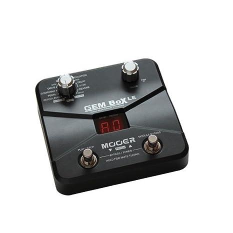 Multi-efectos OxitaTM guitarra pedales, GEM Box LE 8 efecto módulos y 60 tipos de efecto: Amazon.es: Instrumentos musicales