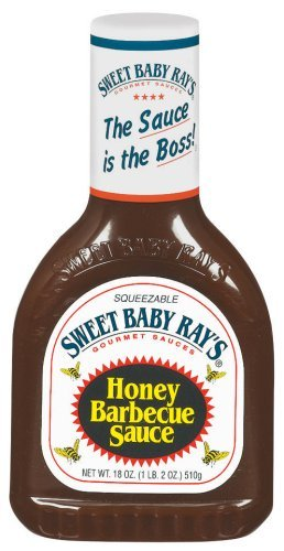 Sweet Baby Honey Barbecue Sauce, 18-Ounce