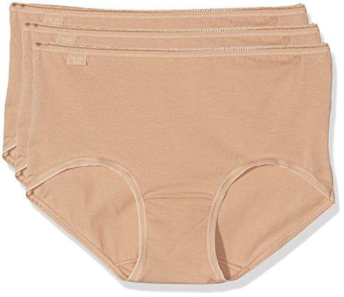 Sloggi 24/7 Cotton Md3p, Bóxer para Mujer Beige (BRUSH SN)
