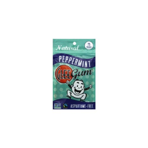 Classic Glee Gum Pouch Peppermint 75 Ct (Pack of 6) by Glee Gum (Image #5)