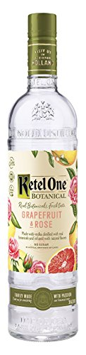 Ketel One Vodka Botanicals Grapefruit Rose, 750 ml, 60 Proof (Ketel One Vodka)