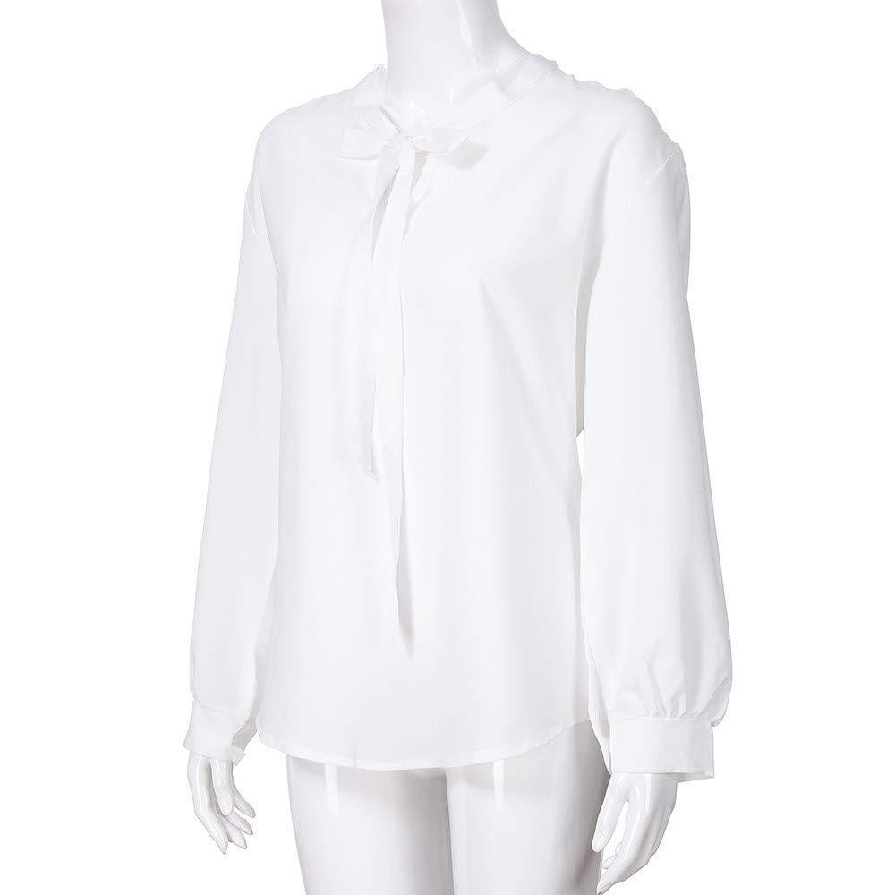 Fuxitoggo para Mujer Damas Cuello en V Bricolaje Elegante Corbata ...