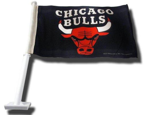 National Champions Car Flag - Rico Industries NBA Chicago Bulls Car Flag
