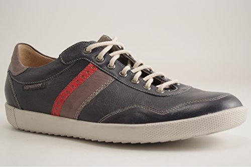 Mephisto URBAN STEVE 2645/2652/2601 NAVY - zapatilla deportiva de cuero hombre azul marino