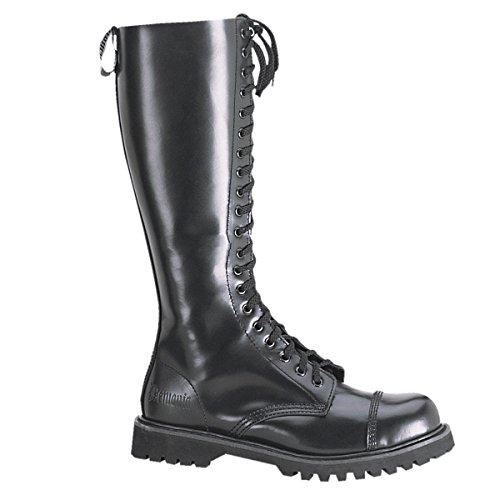 Demonia Rocky-20 - gothique punk cuir ranger bottes chaussures unisex 36-46