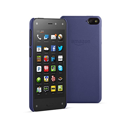 Amazon Polyurethane Case for Fire Phone, Blue