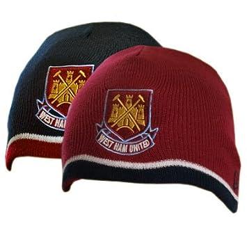 9bcb8be294ea7 West Ham United F.C. Reversible Knitted Hat  Amazon.co.uk  Sports   Outdoors