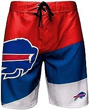 FOCO NFL Buffalo Bills Mens Color Dive Swim Boardshorts, Team Color, XL