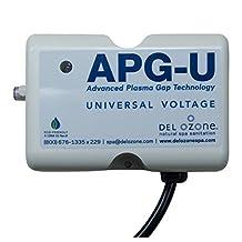 QCA Spas Del Ozone APG-U-1 Ozonator Ozone Generator for Hand Tub Sanitizer, 8 by 8-Inch, Blue