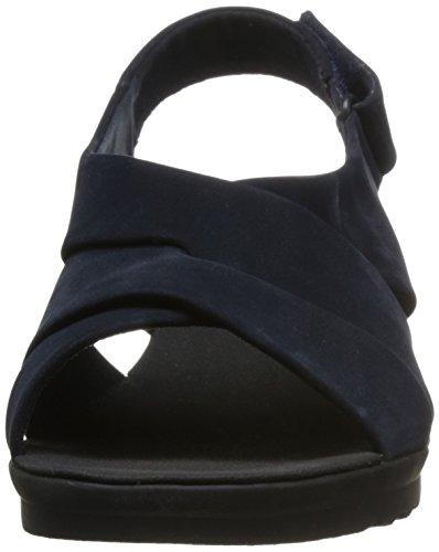 Femme Clarks Bleu Pour Clarks Sandales Sandales I0x0qSHB