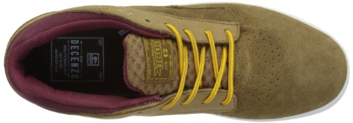 Globe The Delta - Zapatillas de Skateboarding de cuero nobuck hombre Golden Brown