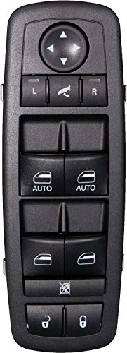 APDTY 133780 Master Power Window, Door Lock Unlock, Power Folding Mirror Switch Fits 2012-2016 Town & Country 2012-2017 Dodge Grand Caravan (With Power Sliding Side Doors; Replaces -