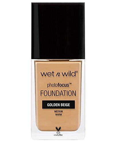 wet n wild Photo Focus Foundation, Golden Beige, 1 Fluid Ounce