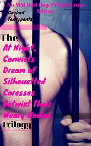 (The 'At Night, Convicts Dream of Silhouetted Caresses Betwixt Their Weary Bodies' Trilogy: An MM Bad-Boy/Prison Erom Series)