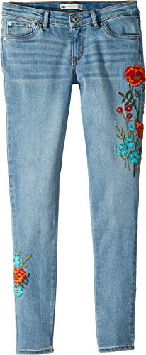 Levi's Big Girls 710 Ankle Super Skinny Jeans, Wavy