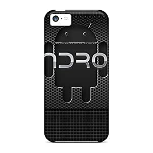 Hot Snap-on Android Carbon Hard Cover Case/ Protective Case For Iphone 5c