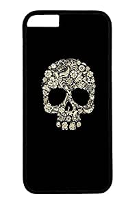 Cool Skull 2 Slim Hard Cover Case For Iphone 4/4S Cover PC Black Cases