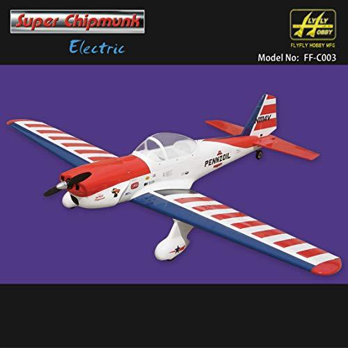 (Super Chipmunk Electric 1620mm ARF Without Electric Part RC Fiberglass Model Sporter Airplane)