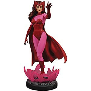 414nuLp7HzL. SS300 DIAMOND SELECT TOYS Marvel Premier Collection: Scarlet Witch Resin Statue