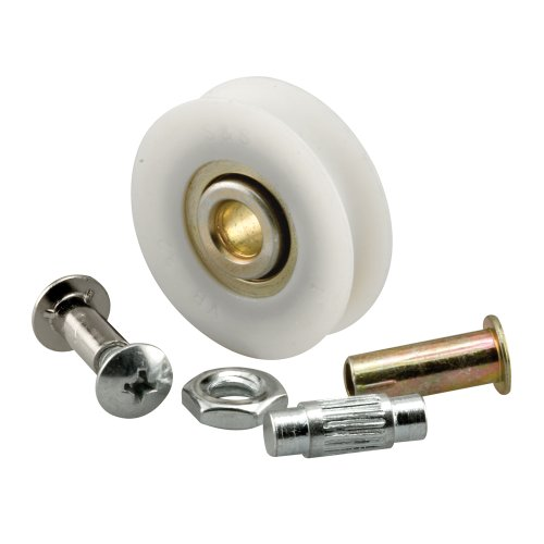 (Prime-Line Products D 1798 Sliding Door Roller Set with 1-1/4-Inch Nylon Ball Bearing, 2-Pack)