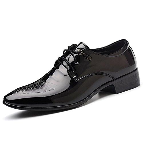 Illuminez le cadeau de No?l qianchuangyuan en Irak. qianchuangyuan No?l Chaussure Homme Cuir élégant Chaussures Habillées 8a75a2