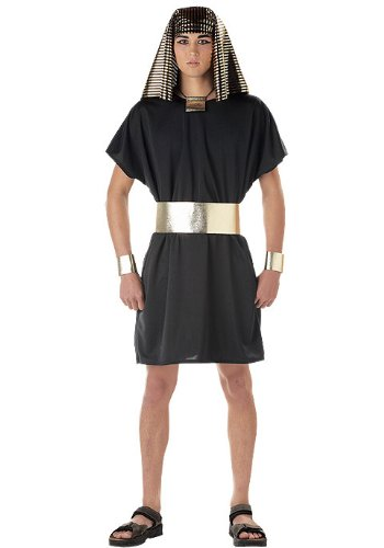 California Costumes Men's Pharaoh Costume, Black, Small -