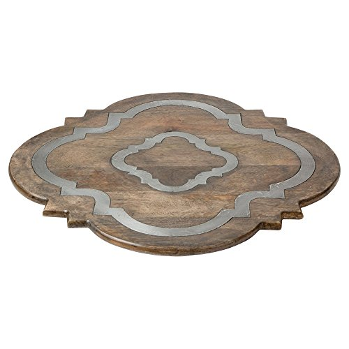 Wood Lazy Susan by GG Collection (Image #2)