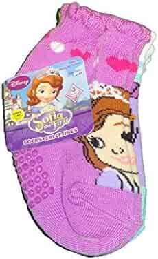 Disney Junior Slipper Socks Size 2-4 Yrs 3-pair Sofia The First For Sale Clothing, Shoes & Accessories Baby & Toddler Clothing